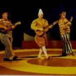 Trio Pok i Cirkus børn og teater